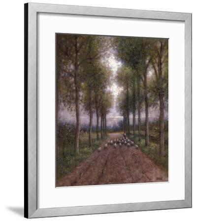 Lord is My Shepherd-Jon McNaughton-Framed Art Print