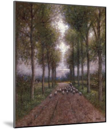 Lord is My Shepherd-Jon McNaughton-Mounted Art Print