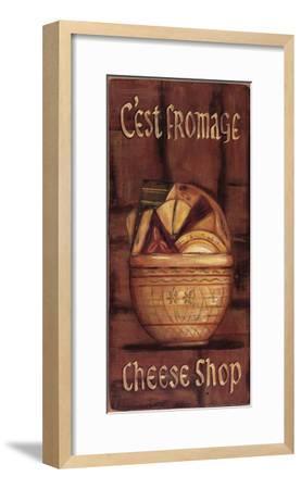 C'est Fromage-Grace Pullen-Framed Art Print