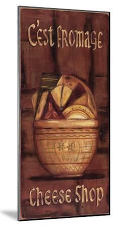 C'est Fromage-Grace Pullen-Mounted Art Print