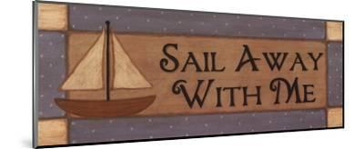 Sail Away With Me-Sue Allemand-Mounted Art Print