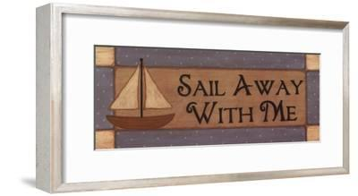 Sail Away With Me-Sue Allemand-Framed Art Print