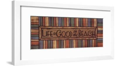 Life is Good-Sue Allemand-Framed Art Print