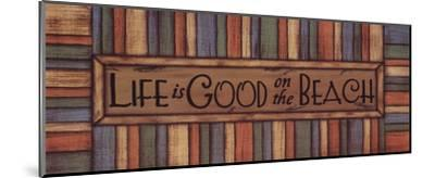 Life is Good-Sue Allemand-Mounted Art Print
