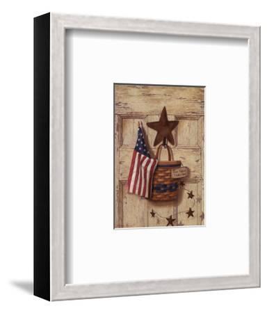 One Nation Under God-I^ Lane-Framed Art Print