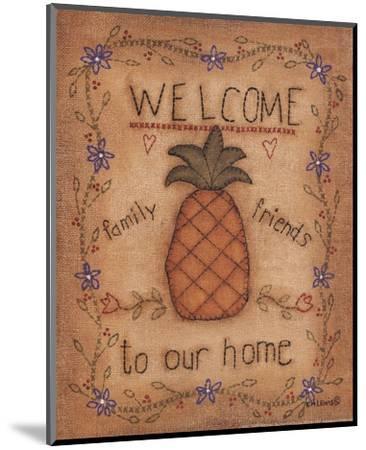Pineapple-Kim Lewis-Mounted Art Print