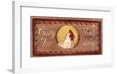 Country Time-Grace Pullen-Framed Art Print