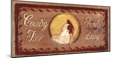 Country Time-Grace Pullen-Mounted Art Print