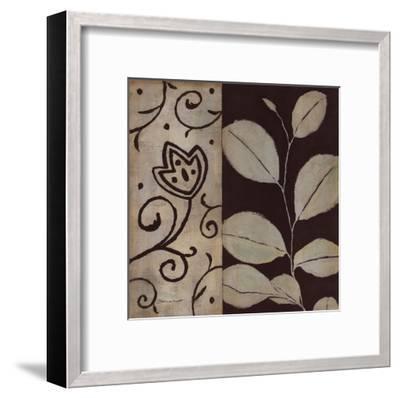 Brown Leaf I-Stephanie Marrott-Framed Art Print