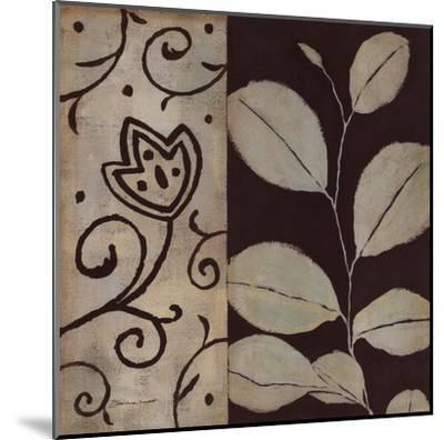 Brown Leaf I-Stephanie Marrott-Mounted Art Print