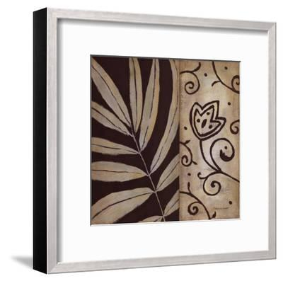 Brown Leaf II-Stephanie Marrott-Framed Art Print