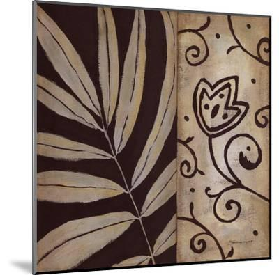 Brown Leaf II-Stephanie Marrott-Mounted Art Print