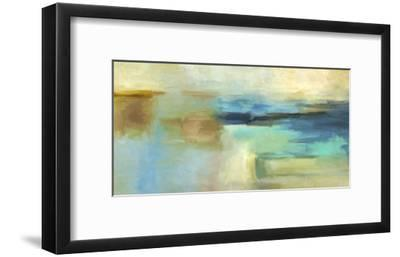 Blue n. 4-Jean-Luc Demos-Framed Art Print