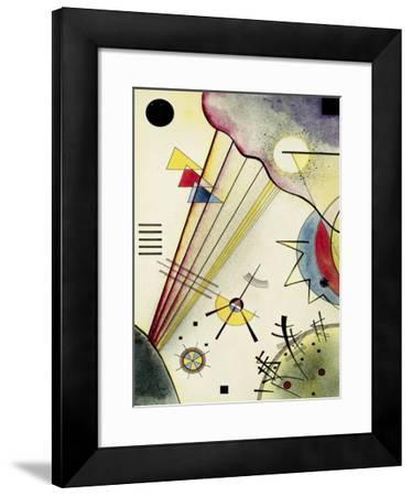 Clear Connection-Wassily Kandinsky-Framed Art Print