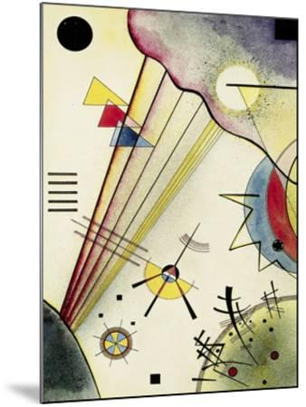 Clear Connection-Wassily Kandinsky-Mounted Art Print