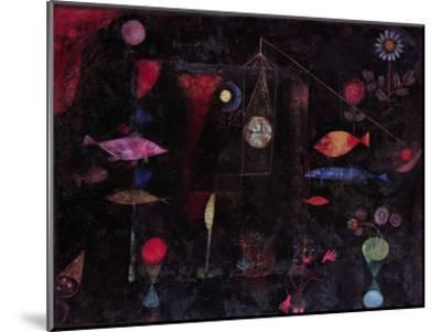 Fish Magic-Paul Klee-Mounted Art Print