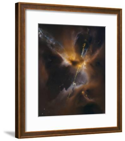 Herbig - Haro Jet HH 24--Framed Art Print