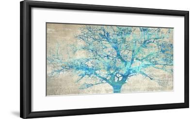 Turquoise Tree-Alessio Aprile-Framed Art Print