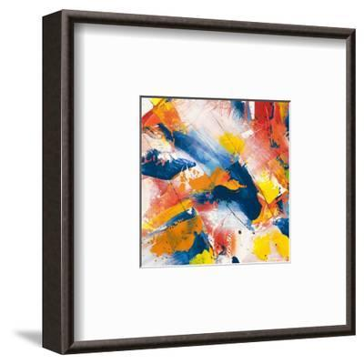 Waves crashing in the summer sky I-Bob Ferri-Framed Art Print