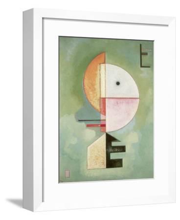 Upward-Wassily Kandinsky-Framed Art Print
