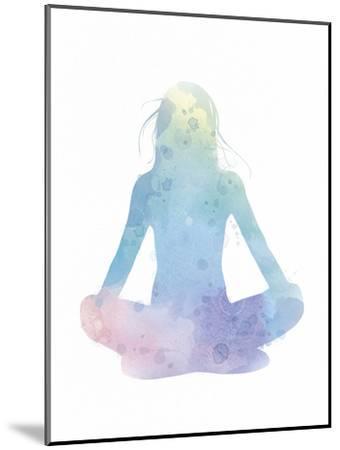 Sukhasana - Meditate-Sasha Blake-Mounted Art Print