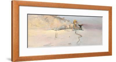 Hot Wind-Charles Conder-Framed Premium Giclee Print