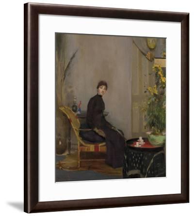 Mrs L. A. Abrahams-Tom Roberts-Framed Premium Giclee Print