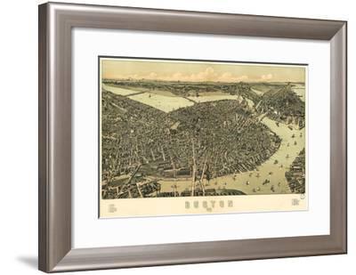 Boston - 1899-Bill Cannon-Framed Giclee Print