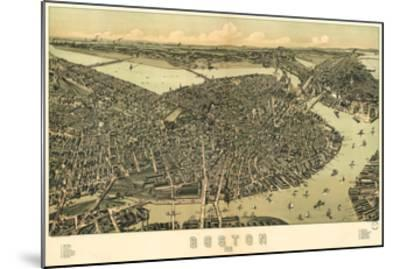 Boston - 1899-Bill Cannon-Mounted Giclee Print