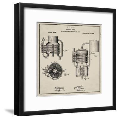 Whiskey Still 1906 Tan-Bill Cannon-Framed Giclee Print