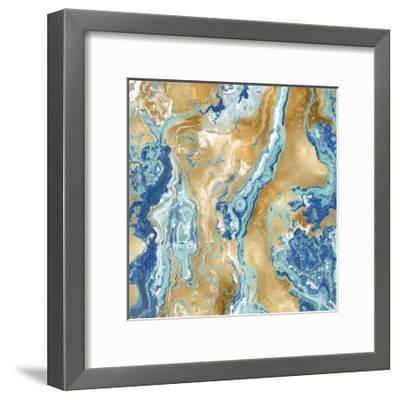 Onyx Aqua-Danielle Carson-Framed Giclee Print