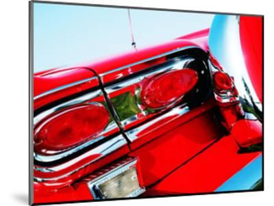 1958 Ford Fairlane 500 D-Clive Branson-Mounted Giclee Print