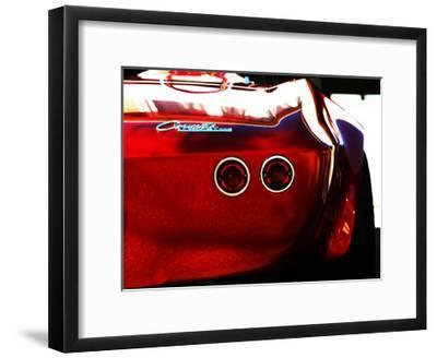 1963 Corvette Stingray 15-Clive Branson-Framed Giclee Print