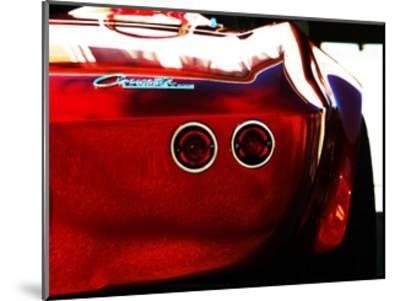 1963 Corvette Stingray 15-Clive Branson-Mounted Giclee Print