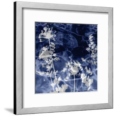 Indigo Nature II-Danielle Carson-Framed Giclee Print