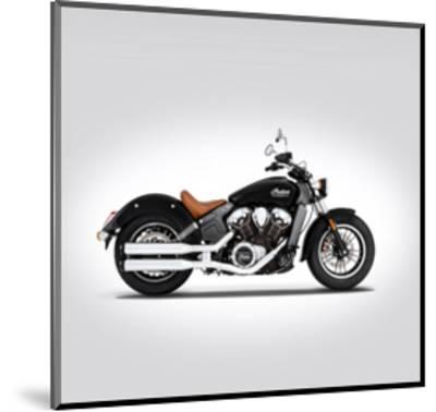 Indian Scout 2016-Mark Rogan-Mounted Giclee Print