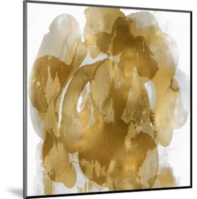 Gold Flow I-Kristina Jett-Mounted Giclee Print