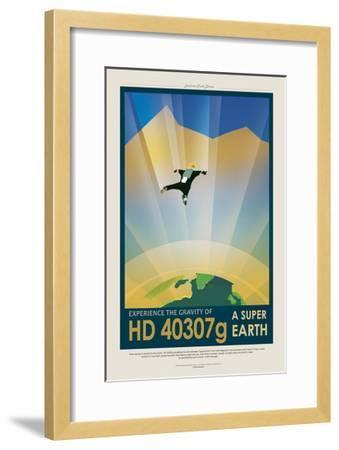 Super Earth--Framed Giclee Print