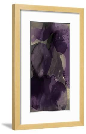 Cascade Amethyst Triptych I-Kristina Jett-Framed Giclee Print