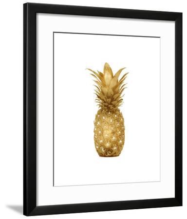 Gold Pineapple I-Kate Bennett-Framed Giclee Print