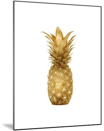 Gold Pineapple I-Kate Bennett-Mounted Giclee Print