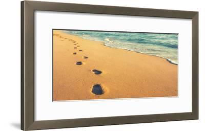 USA, Hawaii, Kauai, Kapa'a, be-Savanah Plank-Framed Giclee Print