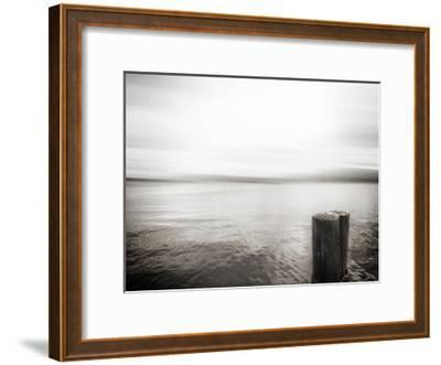 USA, Seattle, view from Alki b-Savanah Plank-Framed Giclee Print