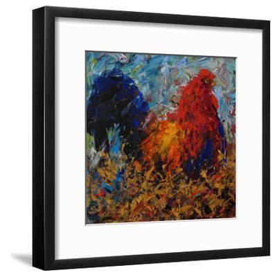 Rooster-Joseph Marshal Foster-Framed Giclee Print