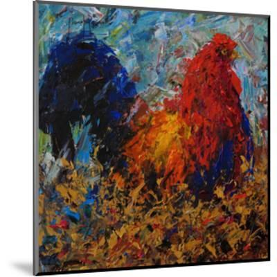 Rooster-Joseph Marshal Foster-Mounted Giclee Print