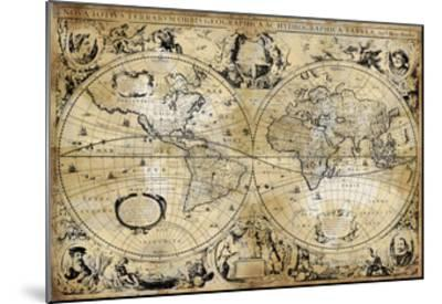 Antique Map I-Russell Brennan-Mounted Giclee Print