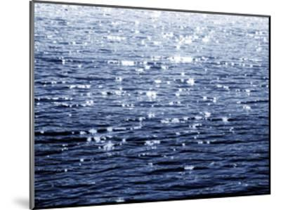 Sunlit Sea Indigo-Maggie Olsen-Mounted Giclee Print