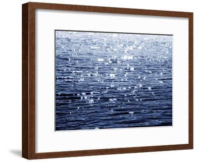 Sunlit Sea Indigo-Maggie Olsen-Framed Giclee Print