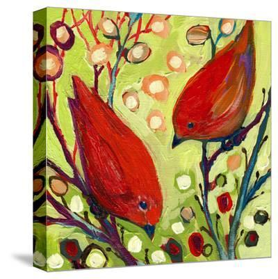 Modern Bird II-Jennifer Lommers-Stretched Canvas Print