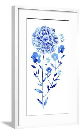 Flowering Flax--Framed Giclee Print